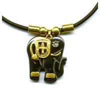 Collier hématite Elephant