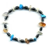 Bracelet hématite multi