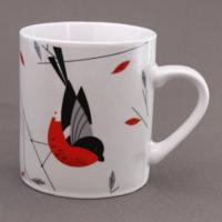 Mug Rouge-gorge en porcelaine Magpie