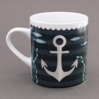 Mug Ancre en porcelaine Magpie