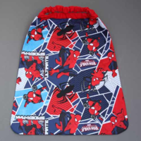 Serviette de table enfant élastiquée ultimate Spiderman Lilooka