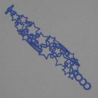 Bracelet Etoiles bleu Batucada