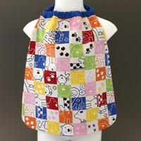 Petite serviette de table enfant 1 à 3 ans cou élastiqué Animaux Lilooka