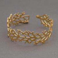 Bracelet Corail plaqué or Shlomit Ofir