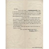 Alberto MORAVIA - Lettre dactylographiée signée (Le Conformiste / La Belle Romaine)