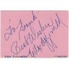 Ella FITZGERALD - Dédicace autographe signée (1970)