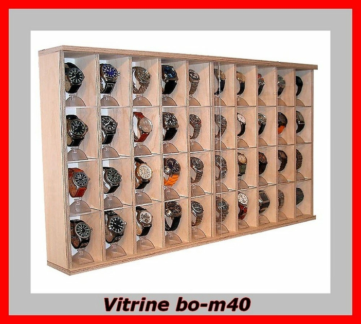 vitrine murale bois vitrine pour bijoux vitrine d 39 exposition. Black Bedroom Furniture Sets. Home Design Ideas