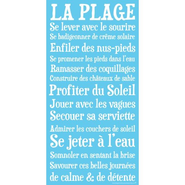 Charming Papier Peint Intisse Heytens 14 La Plage Affiche Papier