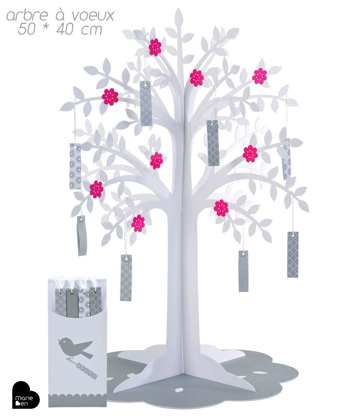 Arbre souhaits arbre voeux la star des arbres - Arbre decoratif pour mariage ...