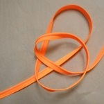 Passepoil Fluo orange 1m