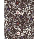 Liberty June's Meadow brun coloris D 20x137 cm