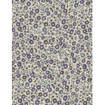Liberty Fairford bleu violet B 20x135 cm