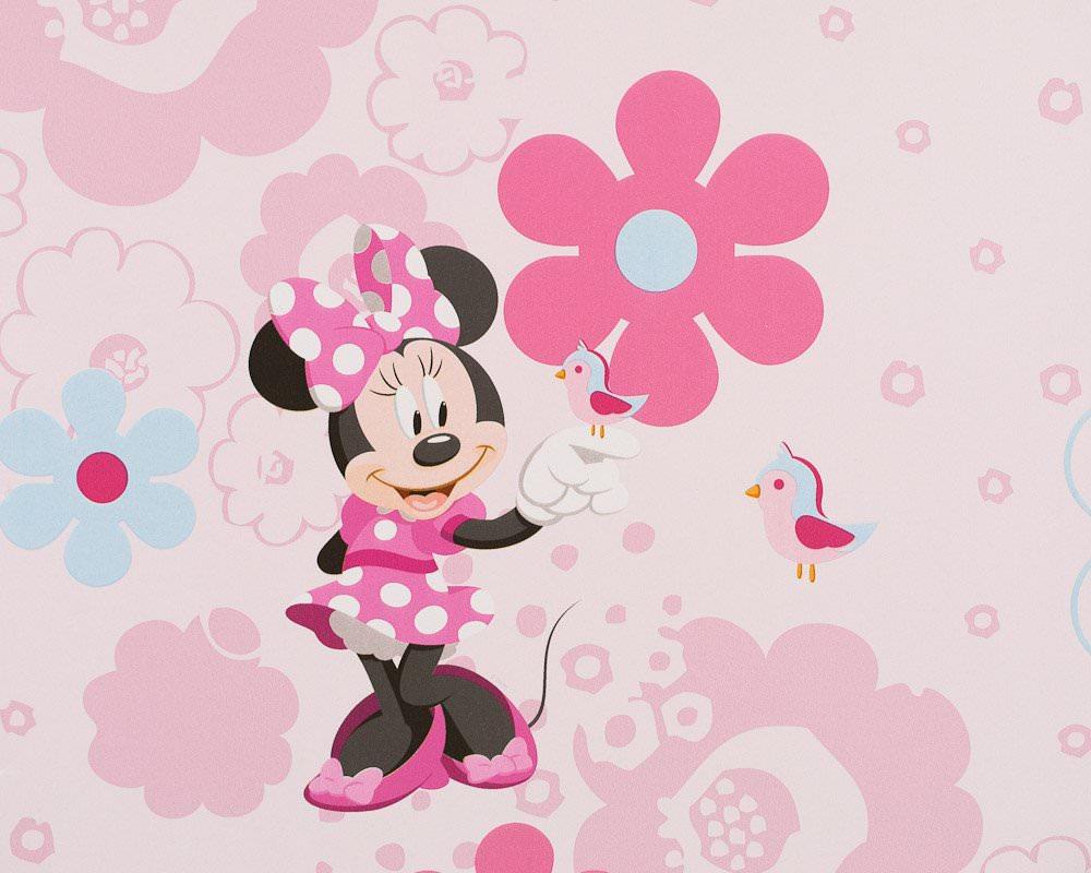 Tapis Chambre Bébé Fille : MINNIE – Rouleau de Papier Peint (n'en reste qu'un) – Minnie …