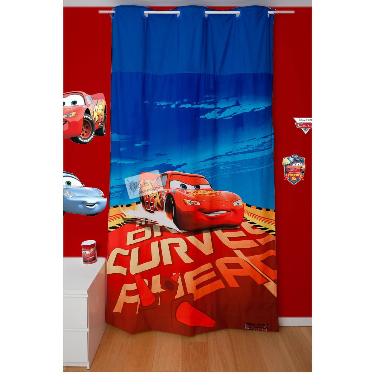 Disney Cars 2 Rideau Rallye 140 X 260 Cm Disney Cars