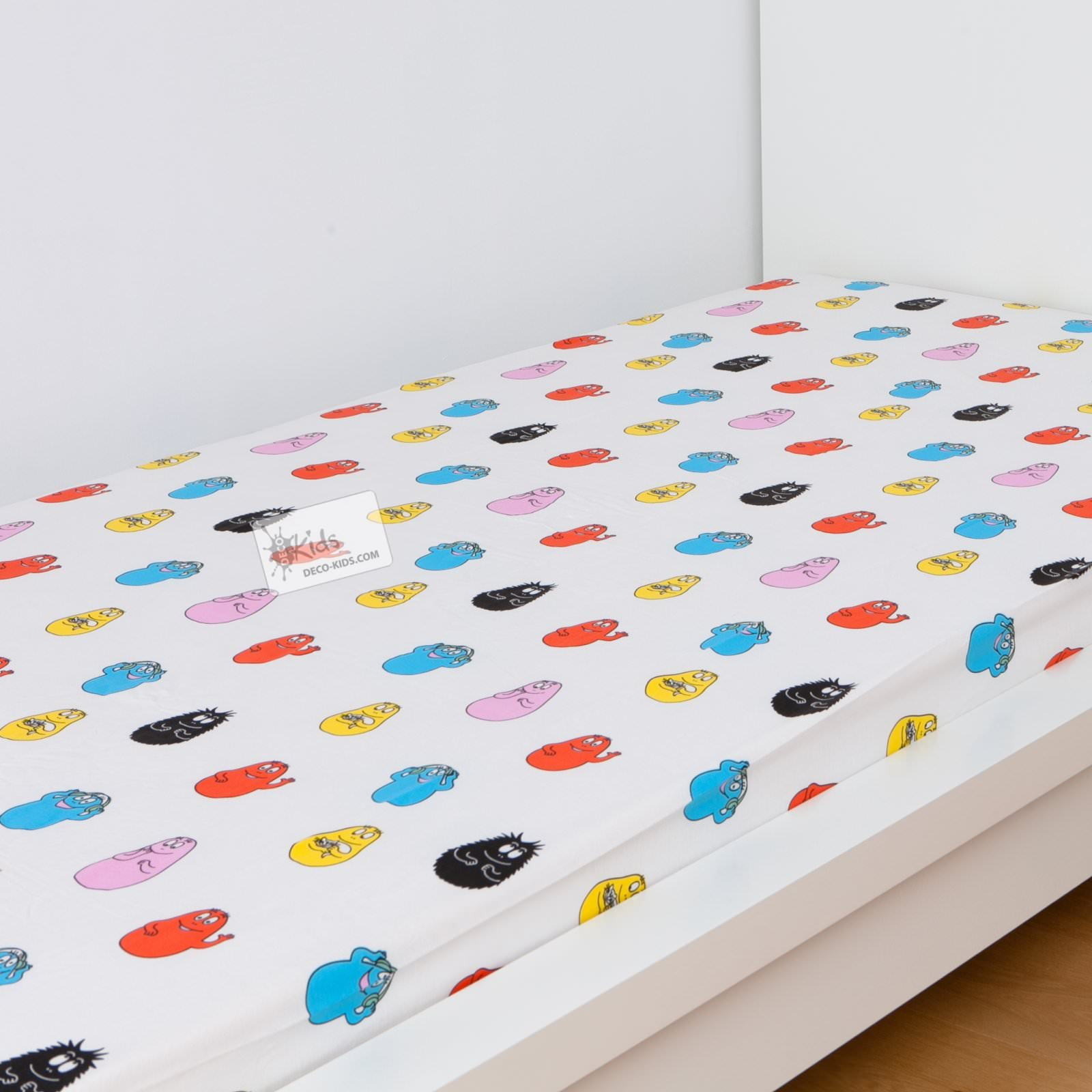 Barbapapa drap housse 90 x 190 cm rigolo barbapapa for Drap housse 40 x 90