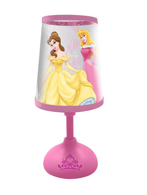 disney princesse petite lampe de chevet disney. Black Bedroom Furniture Sets. Home Design Ideas