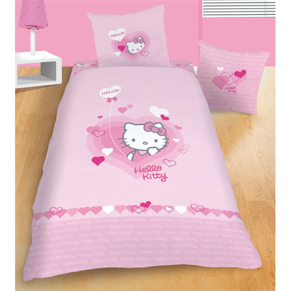 housse de couette hello kitty tous les prix avec le guide d 39 achat kibodio. Black Bedroom Furniture Sets. Home Design Ideas