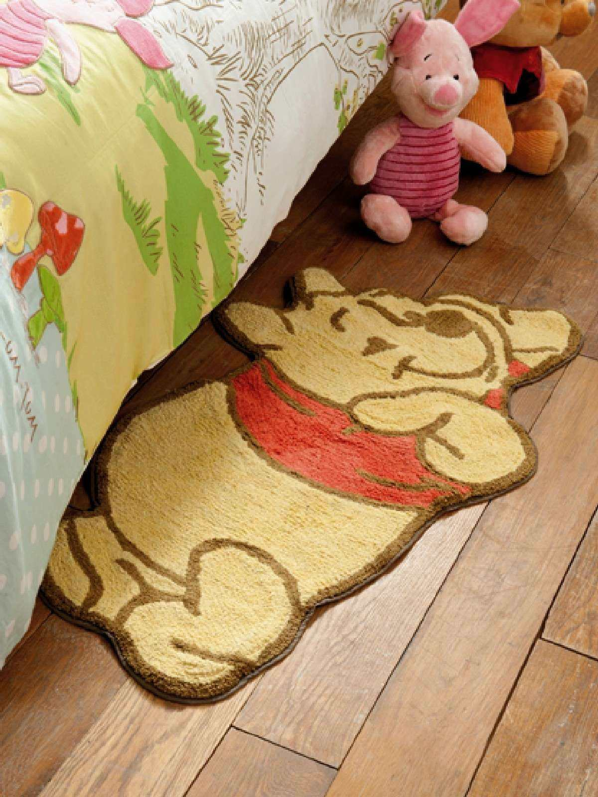 Winnie L 39 Ourson Tapis Carpette Descente De Lit Winnie L 39 Ourson Tapis Decokids Tous Leurs