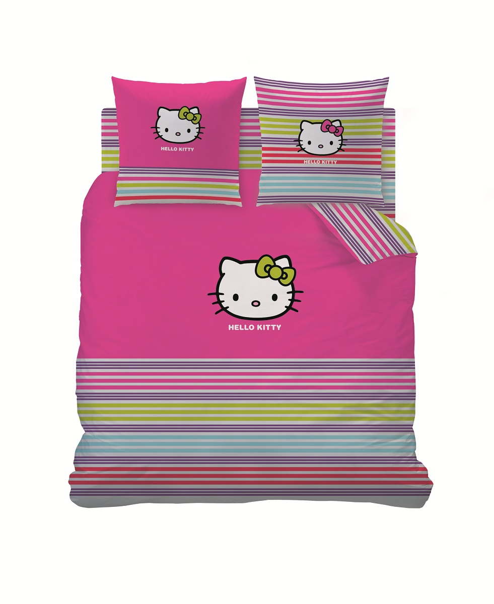 housse couette hello 220x240