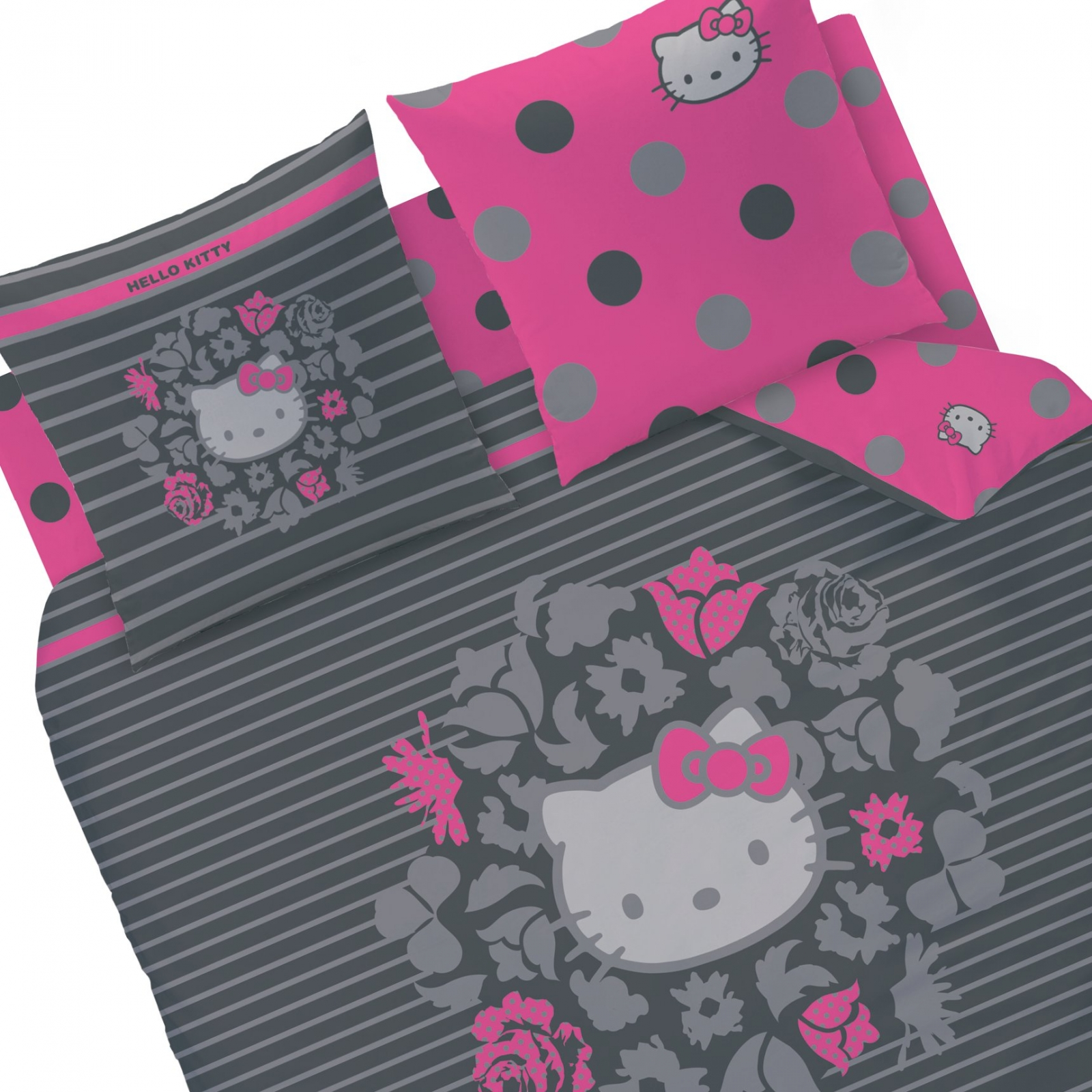 Housse couette hello kitty - Housse de couette hello kitty x ...