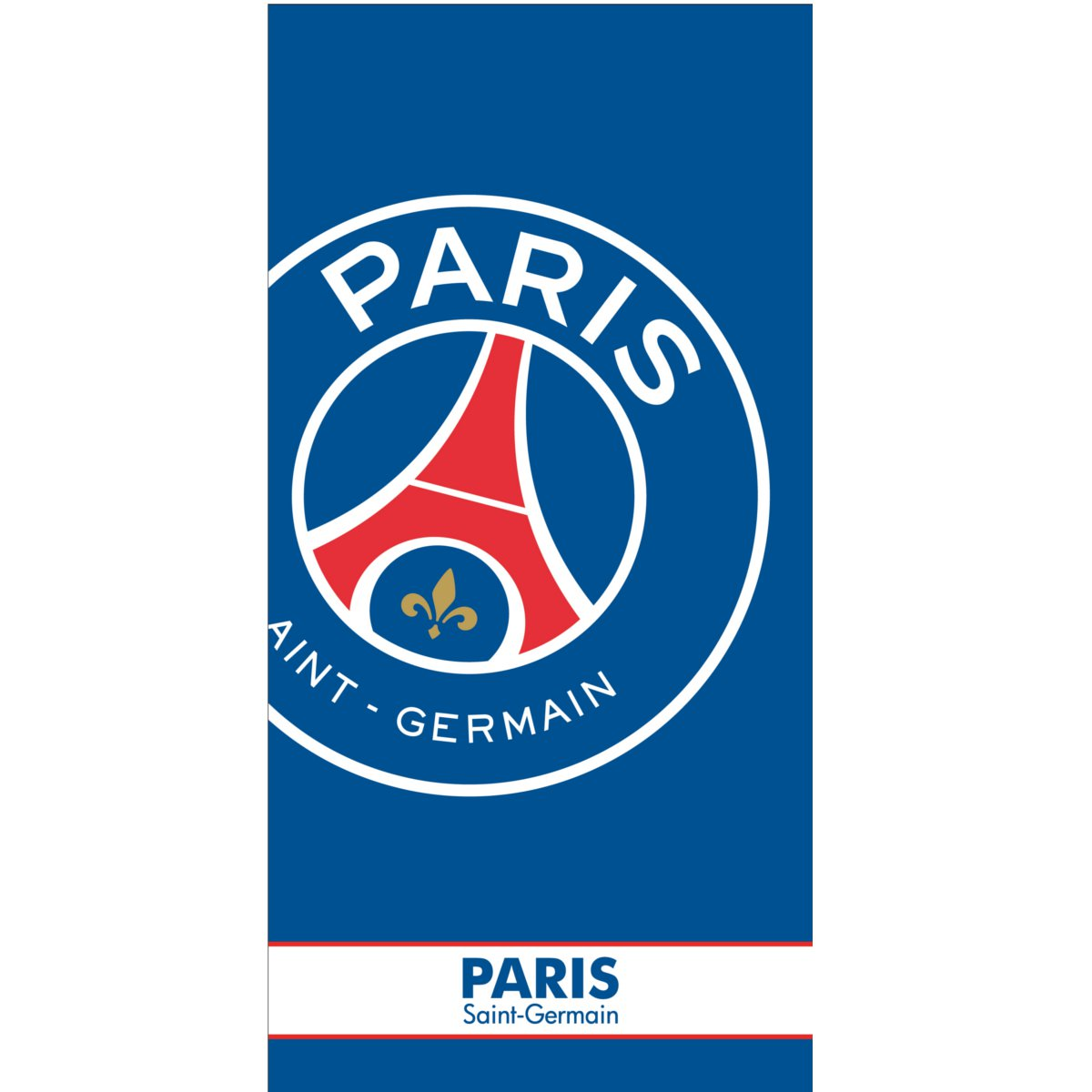 drap de bain plage psg serviette paris saint germain. Black Bedroom Furniture Sets. Home Design Ideas