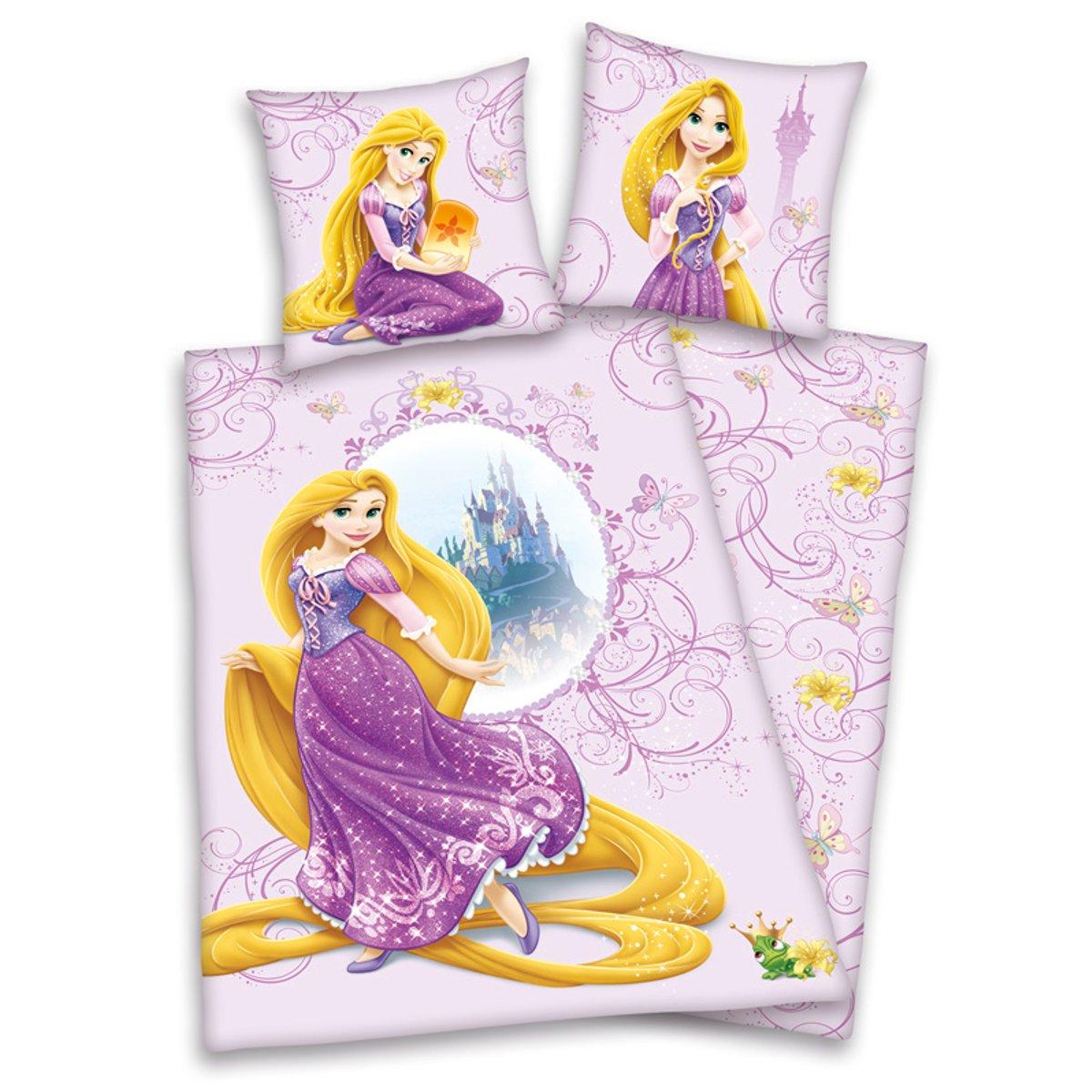 housse de couett disney princesse 140 x 200 cm parure. Black Bedroom Furniture Sets. Home Design Ideas