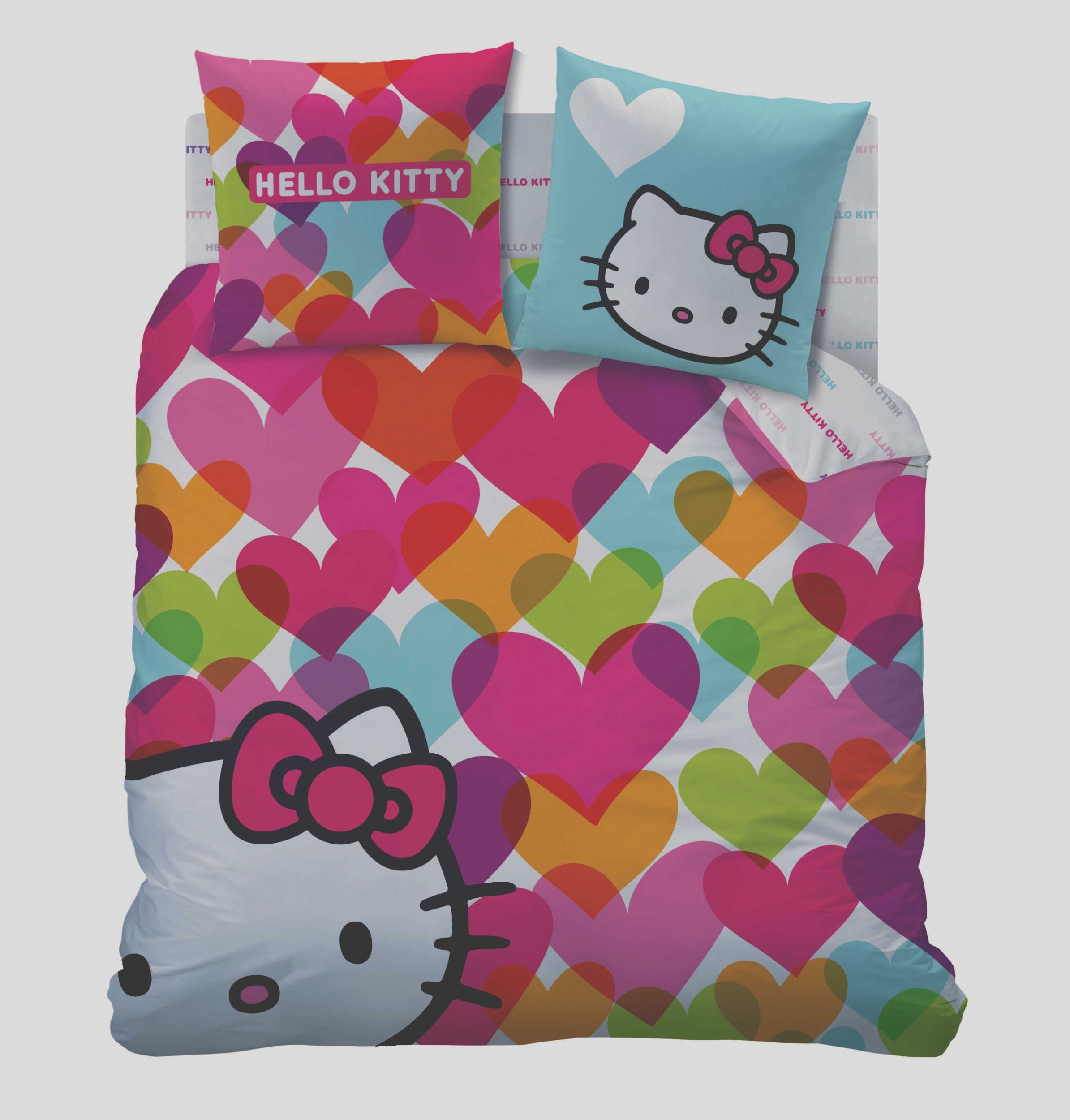 Love guide d 39 achat - Housse de couette hello kitty 200x200 ...