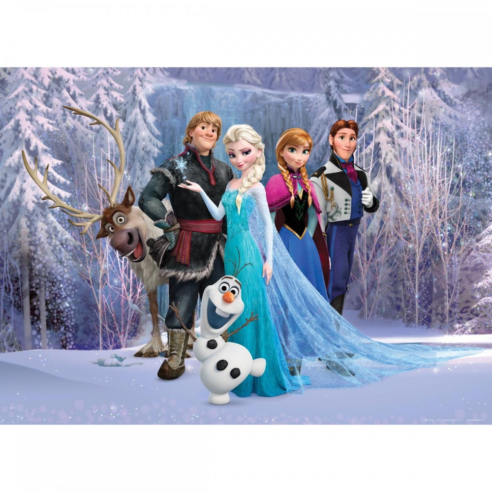 frozen d coration murale maxi poster papier peint reine des neiges 160x115 cm frozen. Black Bedroom Furniture Sets. Home Design Ideas