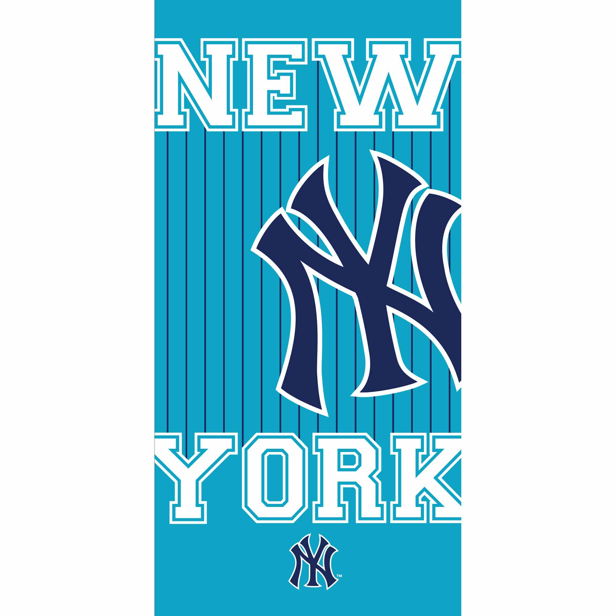 new york yankees serviette drap de bain plage 75 x 150 cm ny bob new york yankees ny. Black Bedroom Furniture Sets. Home Design Ideas