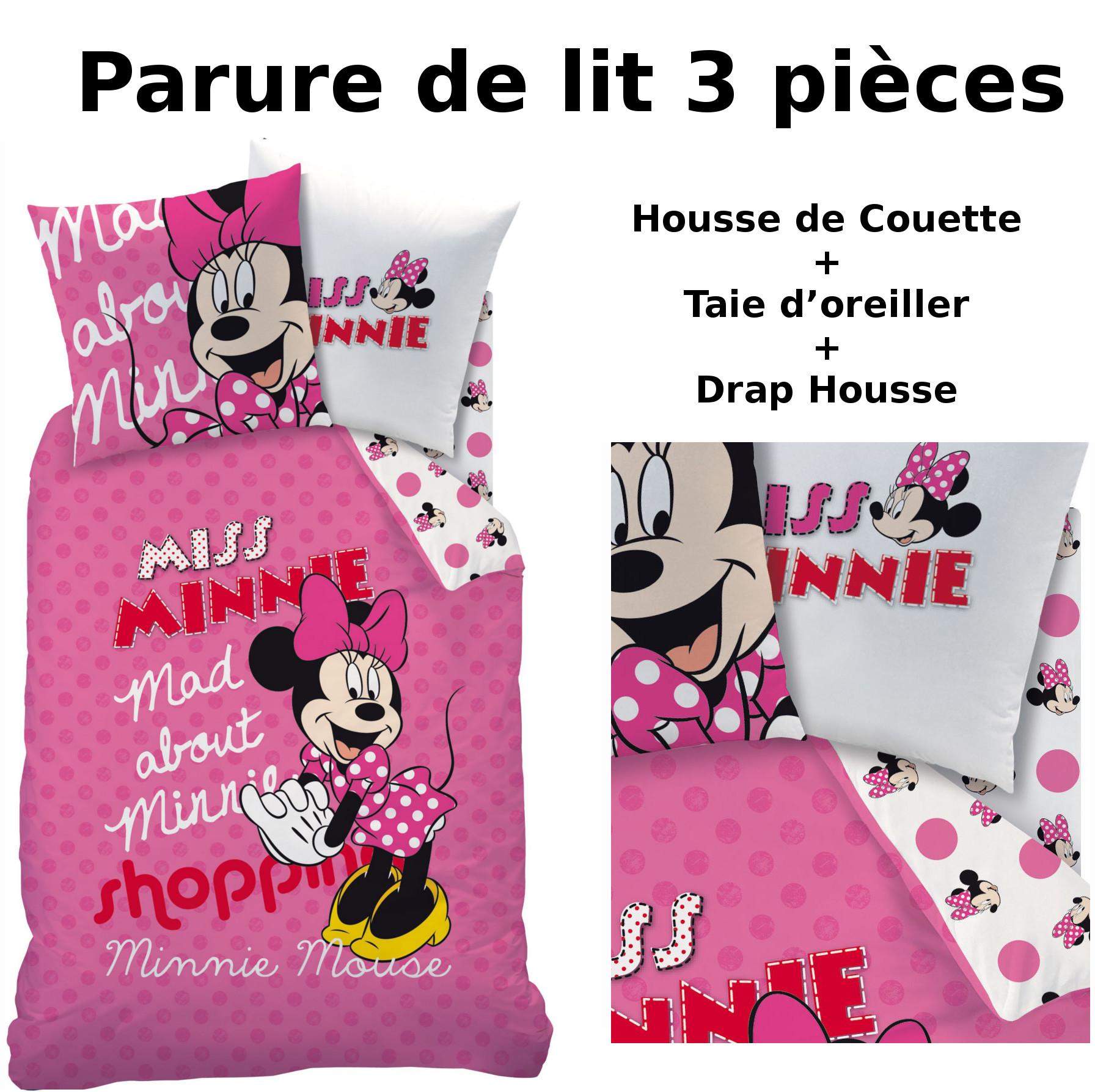 Parure Lit Minnie