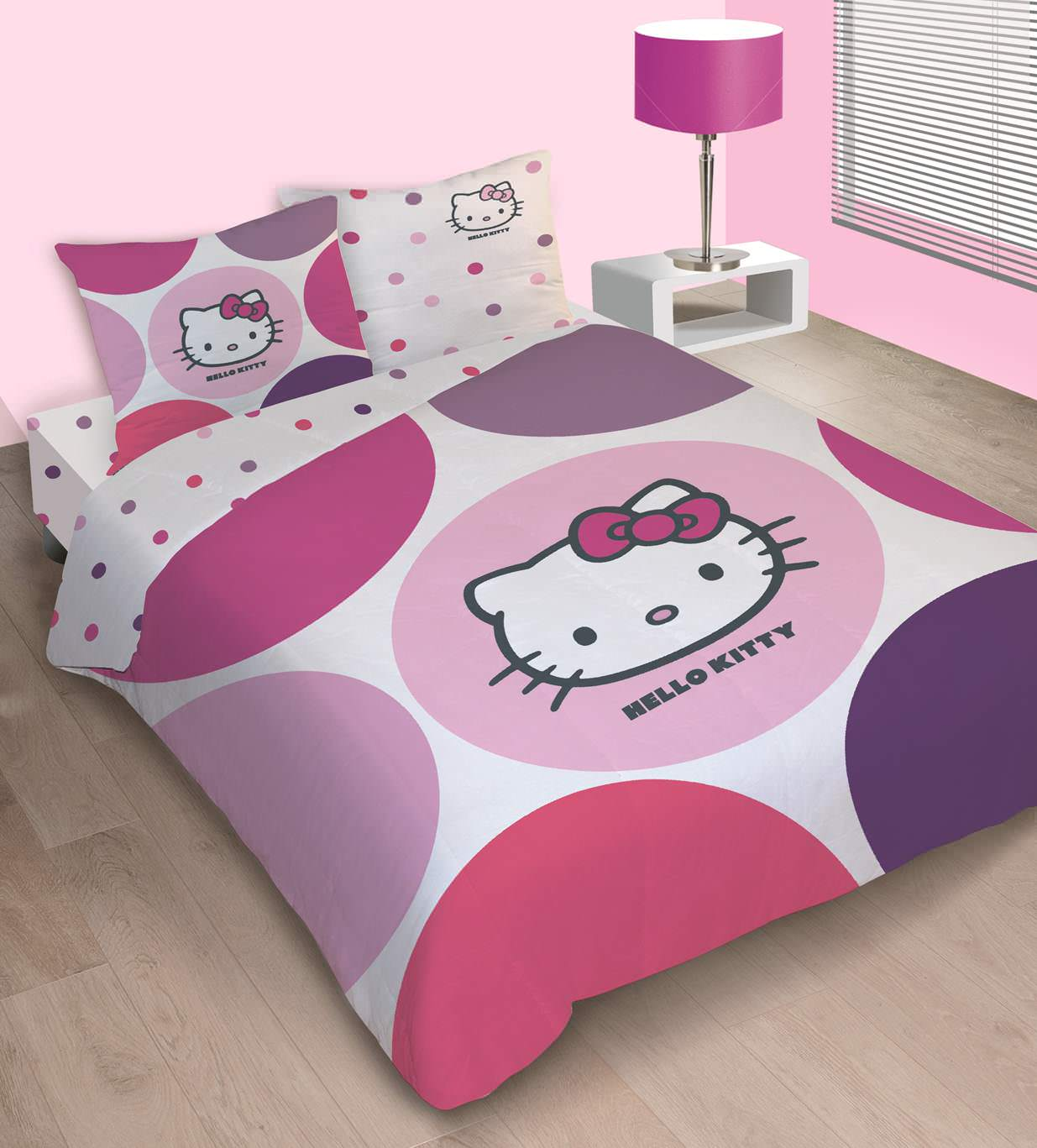 housse couette hello kitty. Black Bedroom Furniture Sets. Home Design Ideas