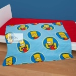 Simpson - PLAID - couverture polaire doudou   150 X 120 cm
