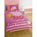 PEPPA PIG - Housse de couette - Time for Bed -  140 x 200 cm