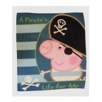 PEPPA PIG - Pirate George - PLAID  - 120 x150 cm