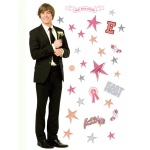 HIGH SCHOOL MUSICAL - Maxi Stickers Troy 84cm + 29 Stick.