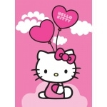HELLO KITTY Tapis Ballons - 133 x 95 cm
