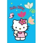 HELLO KITTY Tapis Blue - - 120 x 80 cm