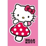 HELLO KITTY Tapis Champignon - 120 x 80 cm