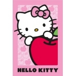 HELLO KITTY Tapis Pomme - 120 x 80 cm