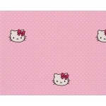 HELLO KITTY - Rouleau de Papier Peint - Polka