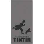 TINTIN - Plaid - Shadow Black - 150 x 120 cm