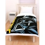STAR WARS Couverture enfant - Plaid Dark Vador 120 x 150 cm