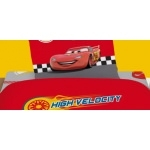 DISNEY CARS 2 - Drap housse - 90 X 190 cm - attack