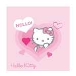 HELLO KITTY - Coussin Lucie 40 X 40 cm