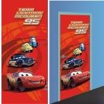 DISNEY CARS 2 - Décoration murale - Poster de Porte - Papier peint 202x90 cm