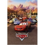 "DISNEY CARS 2 - Poster  - 61 x 61 cm - ""Movie"""