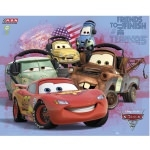 "DISNEY CARS 2 - Poster  - 40 x 50 cm - ""Friends"""