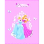 "DISNEY PRINCESSE - Plaid - Couverture - 110 x 140cm - "" Charms """