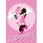 "MINNIE - Tapis - Carpette - 133 x 95 cm - "" Minnie ! """