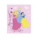 DISNEY PRINCESSE - plaid - couverture - 125 x 150 cm